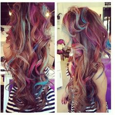 Love this!!! Seriously considering doing this to my hair ; pastel tips :)