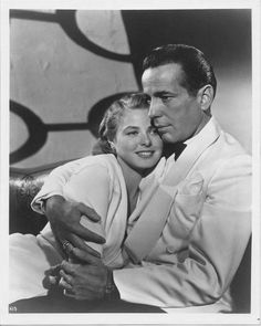 "BOGART... in ""CASABLANCA"" Oh how I loved him in this. His portrayal makes my heart melt."
