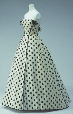 Jacques Fath   Evening Dress 1953 KCI
