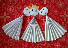 tak to vidím já: christmas / winter January Art, Advent, Christmas Ornaments, Holiday Decor, Cards, Xmas, Manualidades, King Cakes, Winter