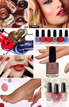 Jessicamerida JESSICA COSMETICS línea al cuidado de tus uñas, cutículas y piel de pies y manos.