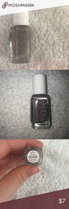 Essie mini nail polish! Beautiful gray nail polish! Huge summer sale! Everything must go! Flaws disclosed! Bundle to save! Makeup