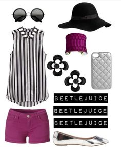 Beetlejuice Summer Outfit