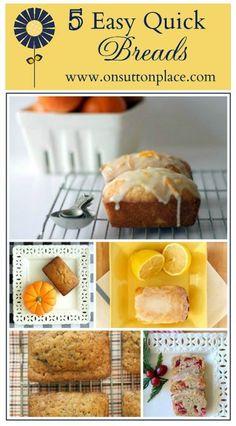5 Easy Quick Breads