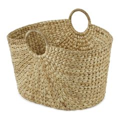 Large Water Hyacinth Basket at Laura Ashley