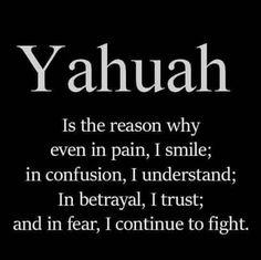 YHUH, The reason why