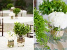 Organic Succulent and Herb Wedding   Wedding Blog – Wedding Colors & Inspiration   Grey Likes Weddings