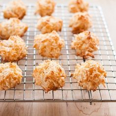 How To Make the Best Coconut Macaroons... toasting the coconut is optional but dont they look great?