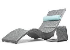 Rock out in this modern outdoor rocking lounger by outdoor furniture guru Kenneth Cobonpue. New from the 2011 collection, the Mermaid rocking lounger Pool Patio Furniture, Modern Outdoor Furniture, Luxury Furniture, Rattan Furniture, Furniture Storage, Outdoor Loungers, Outdoor Rocking Chairs, Lounge Chairs, Sun Lounger