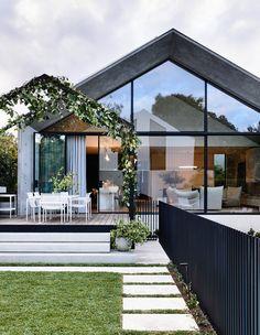 Australian Architecture, Australian Homes, Architecture Design, Victorian Cottage, Victorian Homes, Victorian Decor, Home Interior, Interior And Exterior, Interior Colors