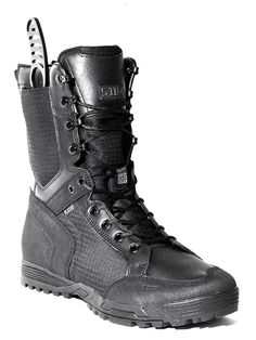5.11 Tactical RECON Urban Boot don't love the boot but I do love the built in sheath