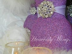 Set of Four 5x7 Lavender Cards Blank Greeting by HeavenlyWings, $10.00