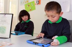 The voice output system called Proloquo2Go enables students from Canberra's Malkara Specialist School press words and images, which are then vocalised or read out by the iPad. More Information: http://www.abc.net.au/news/2015-07-23/malkara-specialist-school-in-canberra-win-national-award-for-aac/6639266