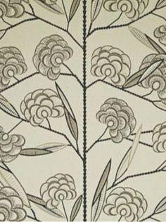 DecoratorsBest - Detail1 - CL WV7JAC-04 - Jacobs Tree - Black Cream - Wallpaper - DecoratorsBest