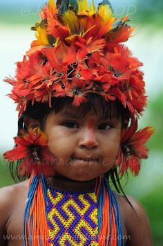 Amazonian boy, The Amazon, Brazil. (source)