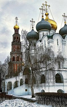 Novodevichy Convent, Moscow, Russia | by Pavel K