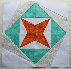 Quatrastar Quilt Block Tutorial - Free foundation pieced quilt blocks are the best way to make a gorgeous quilt that looks a lot more difficult than it was.
