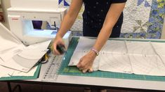 Tip for Judy Niemeyer patterns from Certified Shop quiltfabric.com