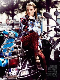 visual optimism; fashion editorials, shows, campaigns & more!: milena feuerer by dan smith for elle poland january 2015