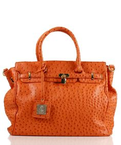 Noble Mount London Office Tote Ostrich...