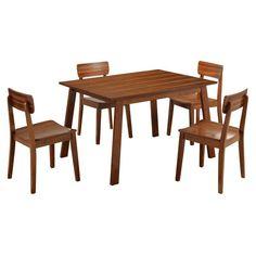 Boraam Zebra Series Hagen 5 Piece Dining Set - 33212