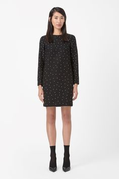 COS | Dotted wool dress