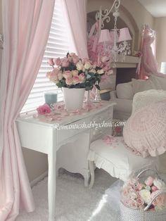 My Shabby Chic Home ~ Romantik Evim ~Romantik Ev: +Romantik ev: Shabby chic dekorasyonda romantik detaylar...