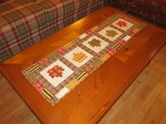 Falling Leaves Table Runner Continued » Notions - The Connecting Threads Quilt Blog