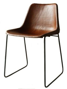Giron Dining Chair Handmade Leather, Dining Chair by Sol Y Luna