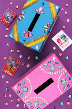 Shimmer and Shine Valentine Card Box