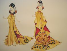Snow White Designs by Natalia Giacomelli at Coroflot.com - Snow White and the Seven Dwarfs