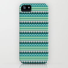 Tribal Evergreen Beat - iPhone Case