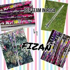 The customized Fizan - Made in Italy since 1947 #poles for Team in Rosa are ready! We hope that you like them! www.fizan.it