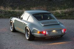 """911 Porsche """"Restored, reimagined, and reborn"""" by Singer Vehicle Design. To me the most desirable car Connecticut version"""