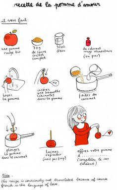 Um lar...: Ilustrações: quadrinhos com receitas!
