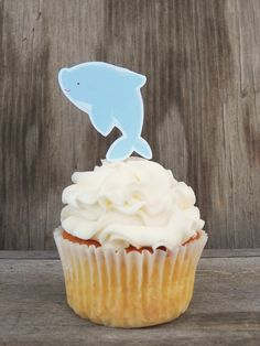 Dolphin Cupcake Toppers Party Picks Kids Birthday Party Kids