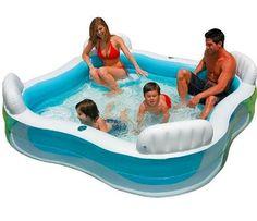 Amazon.com: Intex Swim Center Family Lounge Pool: Toys & Games
