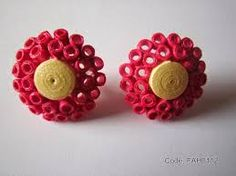 Image result for quilled jewellery