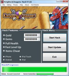 Knights and Dragons Cheat for Gold and Gems - http://risehack.com/knights-and-dragons-cheat-for-gold-and-gems/
