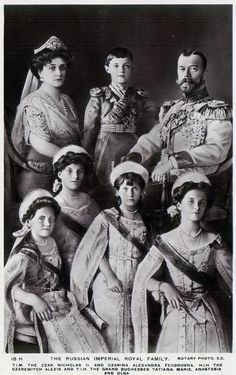 The Romanovs: were executed in 1917 by the communists. The Queen was Queen Victoria's granddaughter.