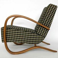 Located using retrostart.com > Arm Chair by Jindřich Halabala for UP Závody