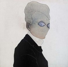 De aarzeling (portret Leon Spilliaert)   Yves Velter