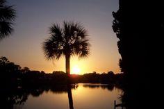 Sunrise in Tarpon Springs, Florida