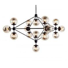 Replica Jason Miller Modo Chandelier - 15 Bulb