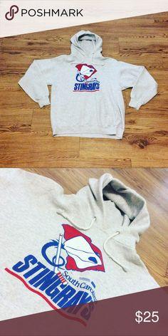 Vintage South Carolina Stingrays Hockey Hoodie Great Condition. Tag says L fits more Medium. Hanes Shirts Sweatshirts & Hoodies