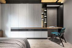 Modern interior House Design Trend for 2020 Room Design, Interior, Bedroom Closet Design, Wardrobe Design Bedroom, Bedroom Interior, House Interior, Home Office Design, Modern Interior, Furniture Design