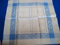 Wonderful Damask Dinner Size Napkin Set of 4 Irish от VerasLinens