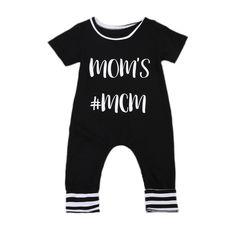 Toddler Newborn Baby Boy Girl Bodysuit Jumpsuit Outfits Sunsuit Clothes Infant Boys Girls Cotton Short Sleeve Bodysuits Clothing #Affiliate
