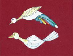 Aves volando. #HilarioBarrero