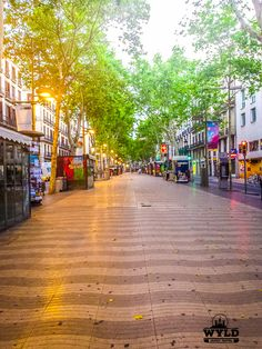 La Rambla and the Gothic quarter are the highlight neighbourhoods of Barcelona. La Rambla Barcelona market alleyways of the Gothic Quarter